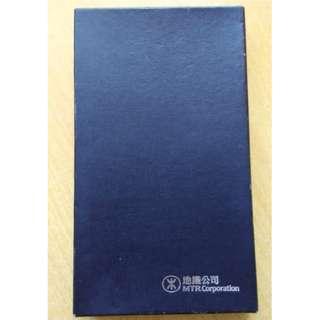 地鐵公司 黑色 卡片套 卡片簿 卡套 (皮) - 絕版 MTR 紀念品