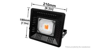 50W 144*LED 8000LM LED Plant Growing Flood Light