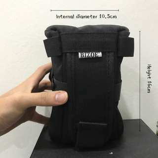Professional lens pouch (with hanging system)