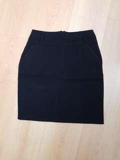 Corporate Formal Black Skirt