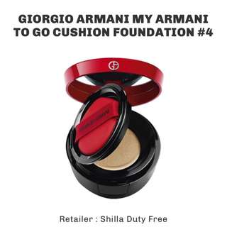 Giorgio Armani My Armani To Go cushion foundation #4