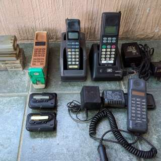 Classic Mobile Phones and Beepers/Pagers (Sold ea)