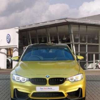 2014 BMW M4 3.0 M SPORT (HEAD-UP DISPLAY) CARBON ROOF