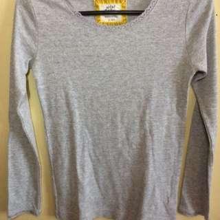 Mini Boden gray long sleeves