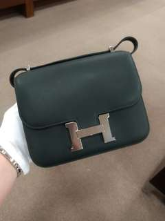 Hermes constance 19 in black