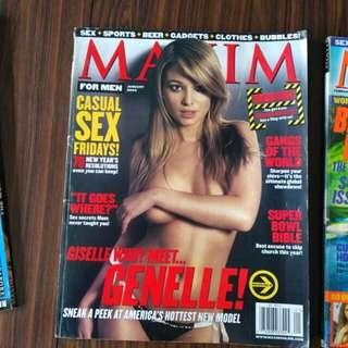 Maxim Jan 2003 Genelle