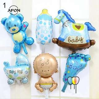(Preorder) 6pcs Baby Shower Foil Balloon
