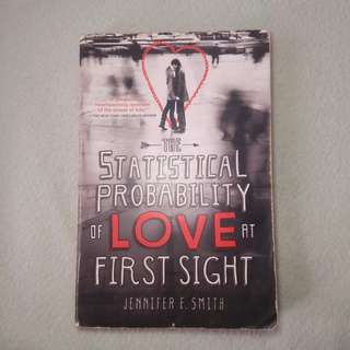 The Statistical Probability of Love at First Sight by Jwnnifer E. Smith