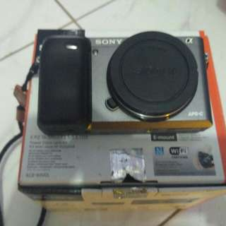 Sony a6000 body only sc 5ribuan