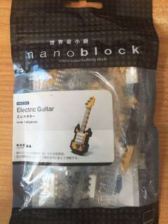Electric Guitar Nanoblock