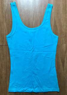 H&M's Divided Turquoise Tank Top