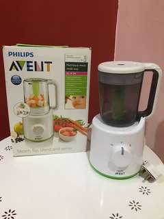 Philips Avent Steamer and Blender Combined - SCF870/21