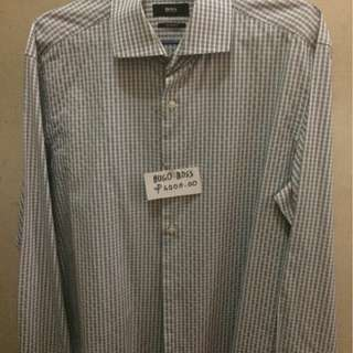 Preloved original Hugo Boss long sleeve dress shirt