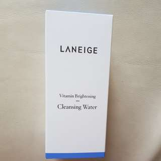 Laneige vitamin cleansing water