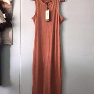 BN Cotton on pink maxi