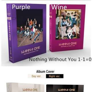 Wanna One Album Preorder