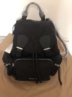 Burberry backpack (black color)