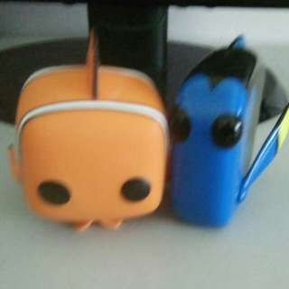 Funko pop Nemo and dory