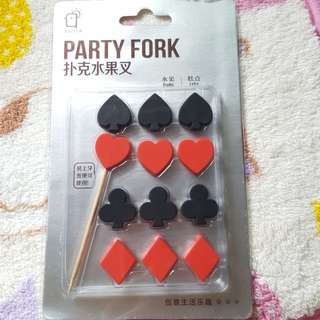 Party fork (Poker version)