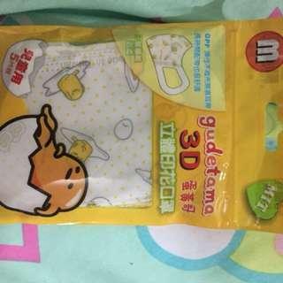 臺灣Sanrio 兒童立體口罩