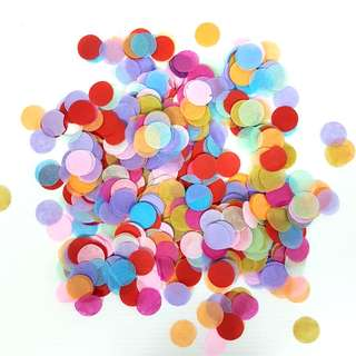 Colourful Tissue Confetti