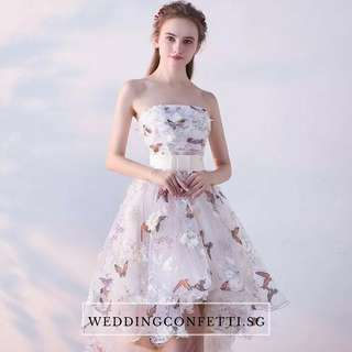 *Brand New* Spring Blossoms Zinnia Wedding Bridal Tube Dress