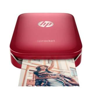 HP Sprocket Photo Printer (Red) Cheapest