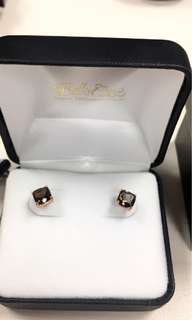 Le Vian Chocolate Quartz Stud Earrings