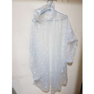 韓國時尚透明雨衣