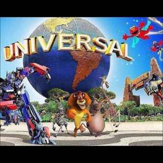 Universal Studious Singapore e-ticket (child)