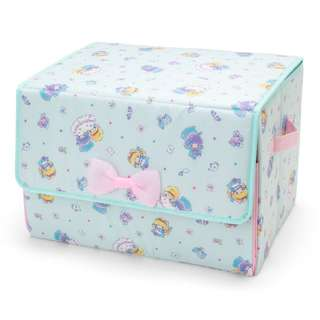Japan Sanrio Little Twin Stars Front Opening Storage Box