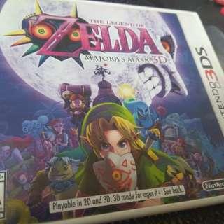 3DS Zelda Majoras Mask