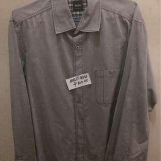 Preloved original Hugo Boss long sleeve dress shirt