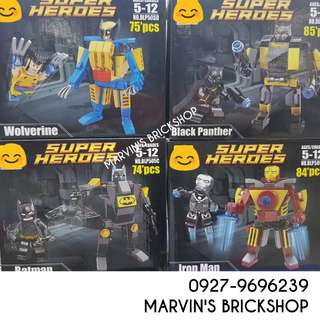 For Sale Super Hero Mech 4in1 set