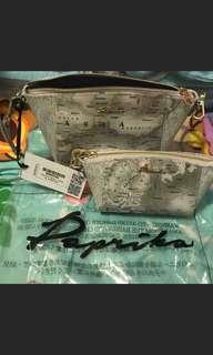 Paprika 地圖袋 小型手挎包 $250