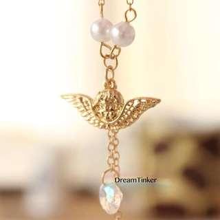 Sparkle Angel Necklace