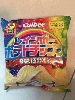 卡樂b彩虹薯片