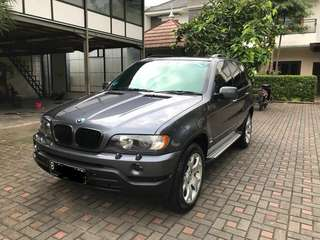 BMW X5 2002 all wheel Drive km 22rb