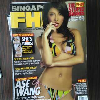 Fhm Ase Wang July 2005