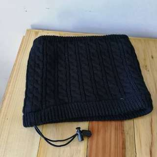 Knitted With Fleece Lining Neck Warmer