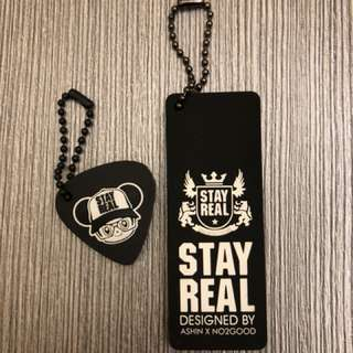 🚚 Stayreal塑膠吊牌 可當鑰匙圈 兩個一起售