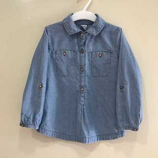 (3T) Brand New Carter Denim Top