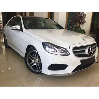 2015 Mercedes-Benz E250 2.0 AMG PANORAMIC