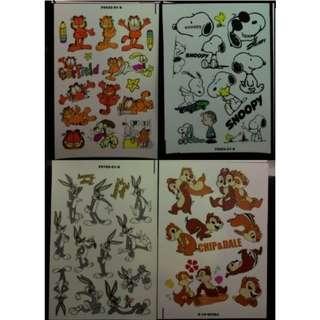 卡通貼紙 卡通防水貼紙 防水貼紙 (No.Z) sticker