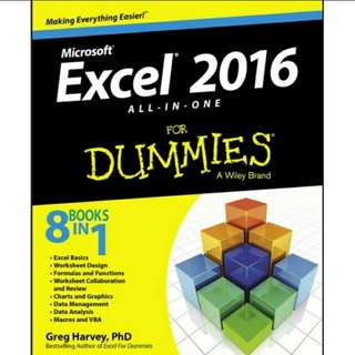 eBook Excel® 2016 All‐in‐One For Dummies®