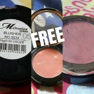 Blush on (FREE sa makaka 300 worth of itemd)