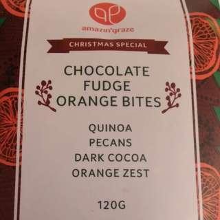 Chocolate Fudge Orange Bites 香橙朱古力小食 (Malaysia Handmade) Expired:24/05/18
