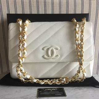 Authentic Chanel Jumbo Flap