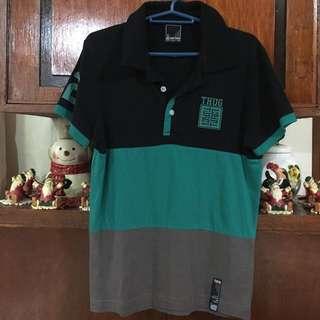 👱🏻Jag Thug Striped Polo Shirt