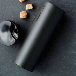 Starbucks Black Matt Thermal Bottle